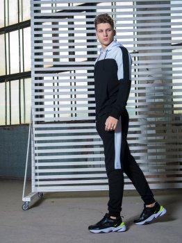 Спортивний костюм IBR Spirited 1586893869 Чорний з білим