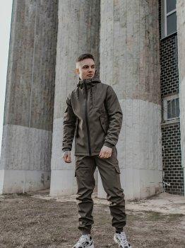 Спортивный костюм IBR Softshell 1586881643 Хаки
