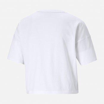 Футболка Puma Ess Cropped Small Logo Tee 58686702 XXS Puma White