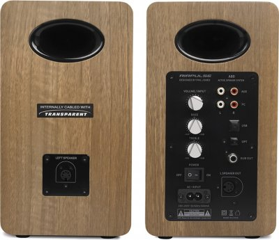 Акустична система Edifier AirPulse A80 Brown 2.0 100 W Bluetooth (AirPulseA80Brown)
