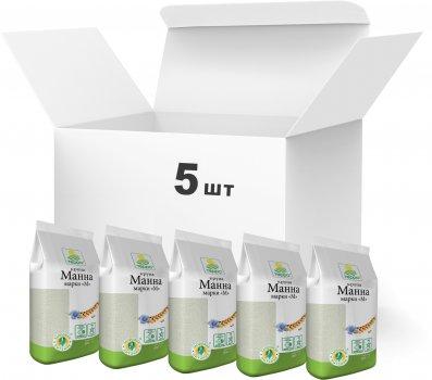 Упаковка крупы манной Терра марки М 800 г х 5 шт (4820015737175)