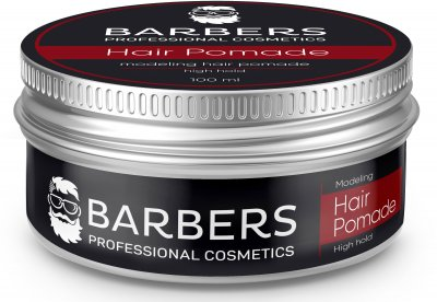 Помада для волосся Barbers Modeling Hair Paste High Hold 100 мл (4823109403079)