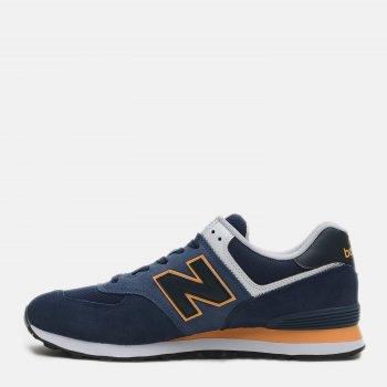 Кроссовки New Balance 574 ML574SY2 Синие с оранжевым