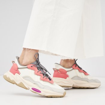 Кроссовки Adidas Originals Ozweego W FX6108 Cwhite-Greone-Ultpur