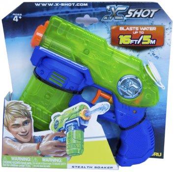 Водный бластер Zuru X-Shot Small Stealth Soaker (01226) (845218011888)