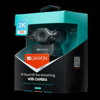 Веб-камера Canyon CNS-CWC6 Black/Grey