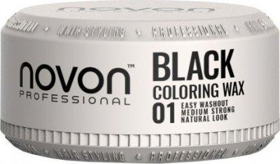 Віск для фарбування волоссяNovonColoring Wax 01 Black, 100 мл