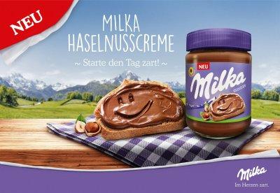 Шоколадная паста Milka Hazelnut Creme 350 г