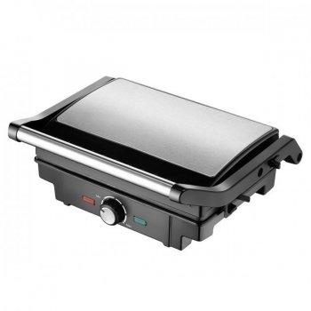 Гриль електричний з регулятором температури Rainberg Pro RG-5402 2200 Вт сэндвичница контактний Black