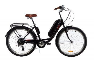 Электровелосипед женский Dorozhnik RUBY 36V 14AH 500W черный (RUBYZPCH)