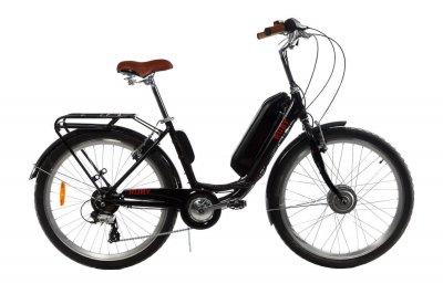 Электровелосипед женский Dorozhnik RUBY 36V 14AH 350W передний привод черный (RUBYPPB)