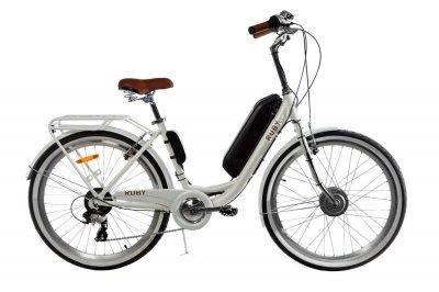 Электровелосипед женский Dorozhnik RUBY 36V 14AH 350W передний привод белый (RUBYPPW)