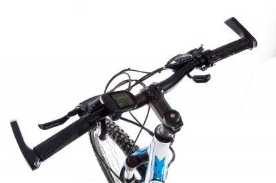 """Электровелосипед Kerambit 26"""" 17"""" 36V 14Ah 500W бело-голубой (KEBG)"""