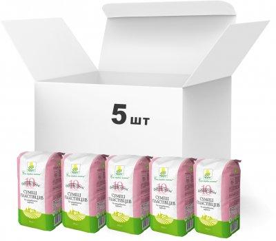 Упаковка пластівцевої суміші Терра Особливо ніжних 10 видів зернових швидкого приготування 550 г х 5 шт. (4820015737434)