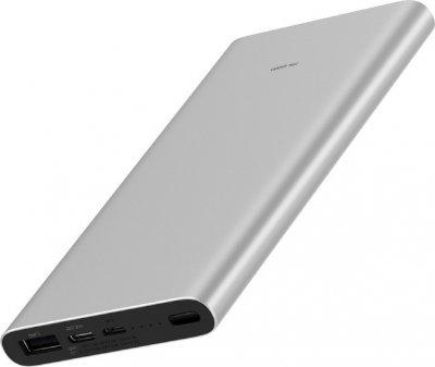 УМБ Xiaomi Mi Power Bank 3 10000mAh USB-C PLM12ZM Silver (VXN4251CN)