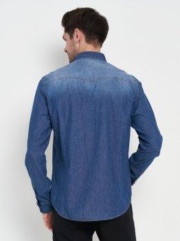 Рубашка джинсовая Remix GOM083108911001 Синяя