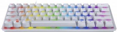 Механічна клавіатура RAZER Huntsman mini, Mercury Edition, ENG purple switch (RZ03-03390300-R3M1)