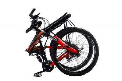 """Электровелосипед Kerambit 26"""" 17"""" 36V 12Ah 500W складной с багажником черно-красный (EKCHK)"""