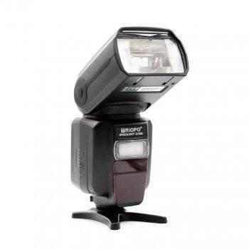 Вспышка для фотоаппаратов Canon и Nikon - TRIOPO G1800 с TTL и встроенным синхронизатором и аккумулятором