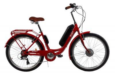 "Електровелосипед E-motion 48V 17,5 Ah 700W / алюмінієва рама 19"" чорно-зелений (EVE4817570019BG)"
