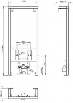 Инсталляция ROCA Pro A890071000 + биде Gap A357476000
