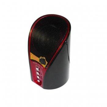 Колонка акустична SPS WS 133+BT, з FM приймачем, червона