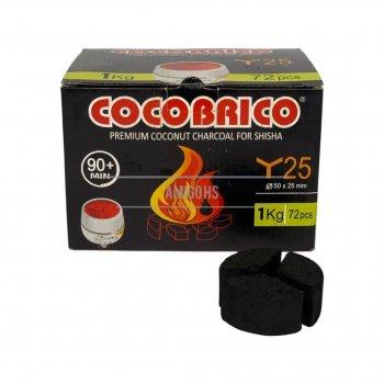 Кокосовий вуголь під калауд Cocobrico 1кг