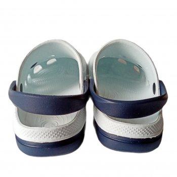 Сабо женские Jose Amorales 116101 Бело-синие