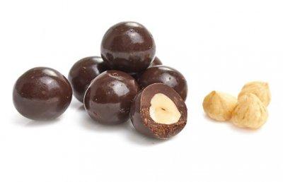 Фундук у чорному шоколаді 300 гр