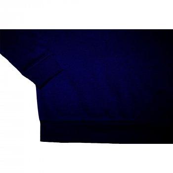 Свитшот для мальчика ( 1 шт ) George тёмно-синий тёплый на флисе с манжетами 1694