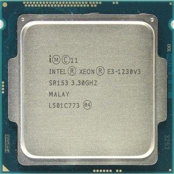 Процессор Intel Xeon E3-1230 v3 Б/У