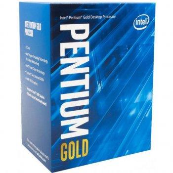 Процессор Intel Pentium Gold G6405 4.1GHz (4MB, Comet Lake, 58W, S1200) Box (BX80701G6405)