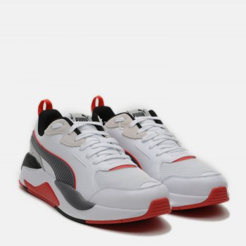Кроссовки Puma X-Ray Game 37284911 Puma White-CASTLEROCK-High Risk Red-Puma Black