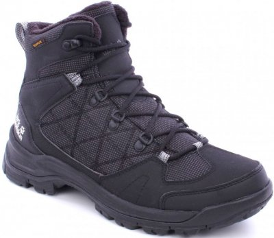 Ботинки Jack Wolfskin Cold Terrain Texapore Mid M 4020502-6053 Черные