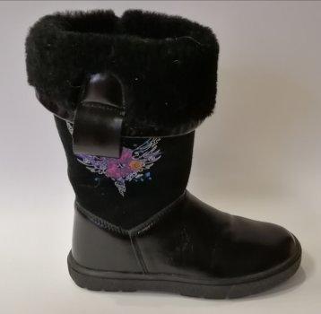 Зимние сапоги Bartek 717744 чёрные