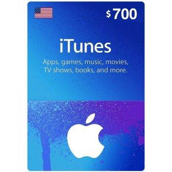 Подарункова карта iTunes Apple / App Store Gift Card 700 usd US-регіон