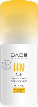 Шариковый дезодорант Babe Laboratorios сенсетив 24 часа 50 мл (8436571631268)