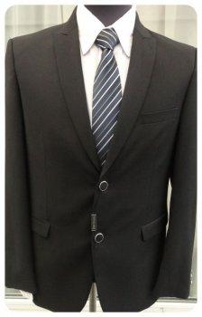 Чоловічий костюм West-Fashion А-86 чорний 182