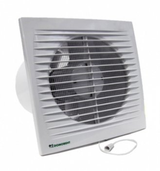 Вентилятор Домовент 100 СВ с выключателем