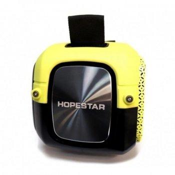 Портативна колонка Hopestar A20 PRO (55W) Bluetooth Акустична стерео система з функцією TWS + мікрофон Yellow