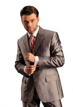 Мужской нарядный костюм West-Fashion 052 елочка 176