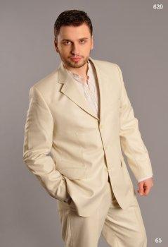Чоловічий костюм West-Fashion 620 льон 170
