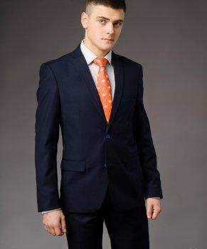 Мужской костюм West-Fashion А-75 темно-синий 194