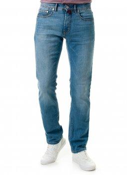 Джинси чоловічі блакитні з потертістю Pierre Cardin оригінал! (А:7173/27 М:3091)