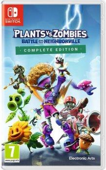 Игра Plants vs Zombies: Battle for Neighborville Complete для Nintendo Switch (картридж, Russian version)