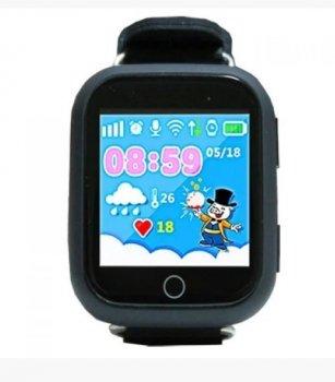Дитячі розумні годинник Smart Baby Watch Q100 Чорні