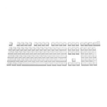 Набор кейкапов PBT ANSI / ISO ENG White (KC-001)