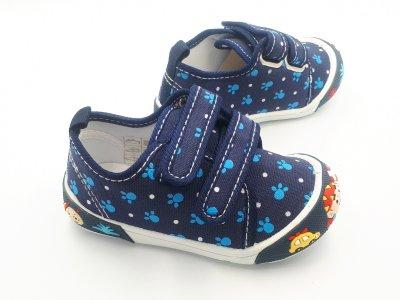 Кеды для мальчиков Super Cool H151с Темно-синий