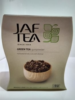 Чай зеленый Ганпаудер Jaf Tea Gunpowder 100г