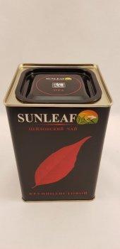 Чай черный крупнолистовой Солнечный лист SunLeaf в жестяной банке 150г